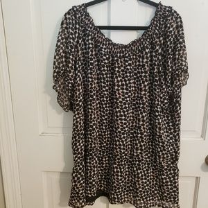 Merona Sz 2 (22/24) animal print top